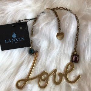 LANVIN PARIS LOVE necklace